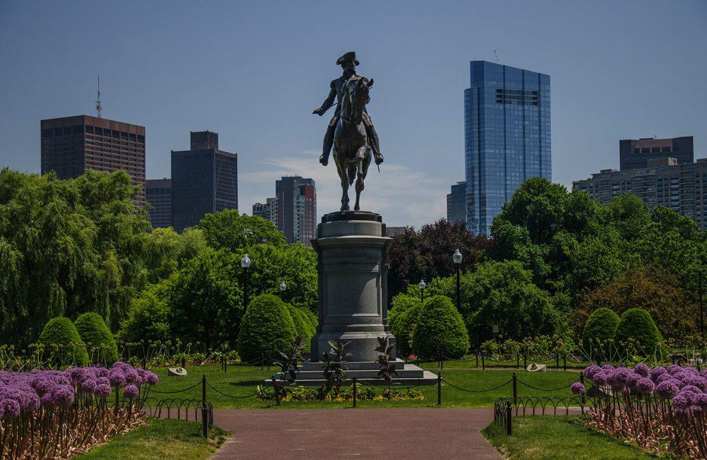 George Washington Statue in Boston Public Garden 2