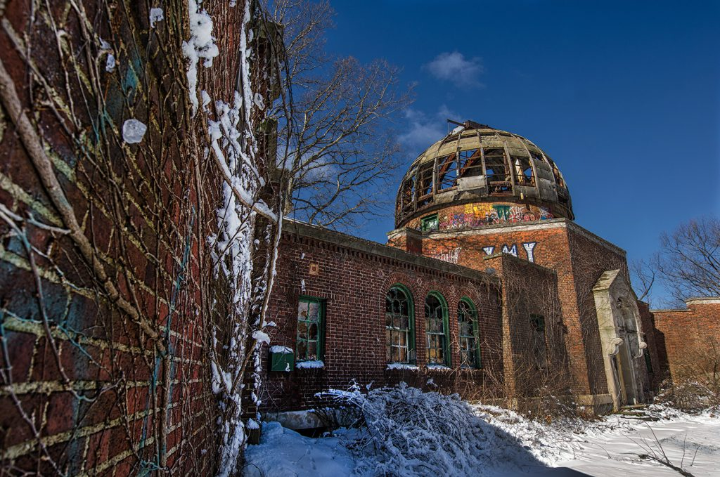 Ice Blob and Observatory