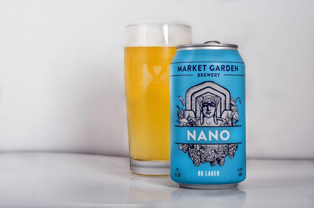 Market Garden Nano OG Lager - Silver International Style Pilsener