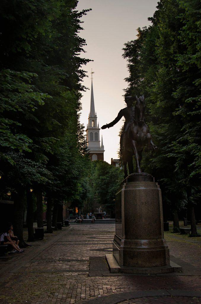 Paul Ravere Statue
