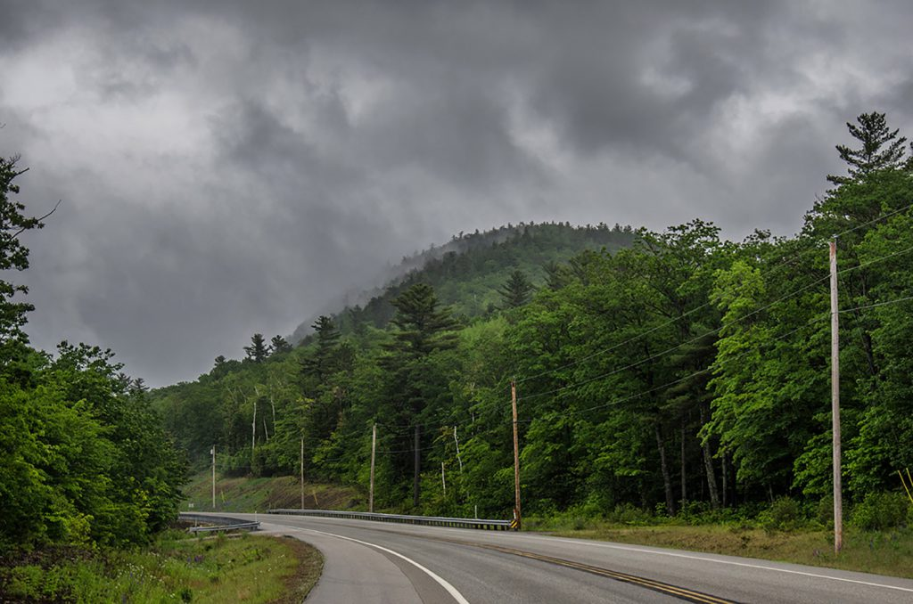 Road in Maine