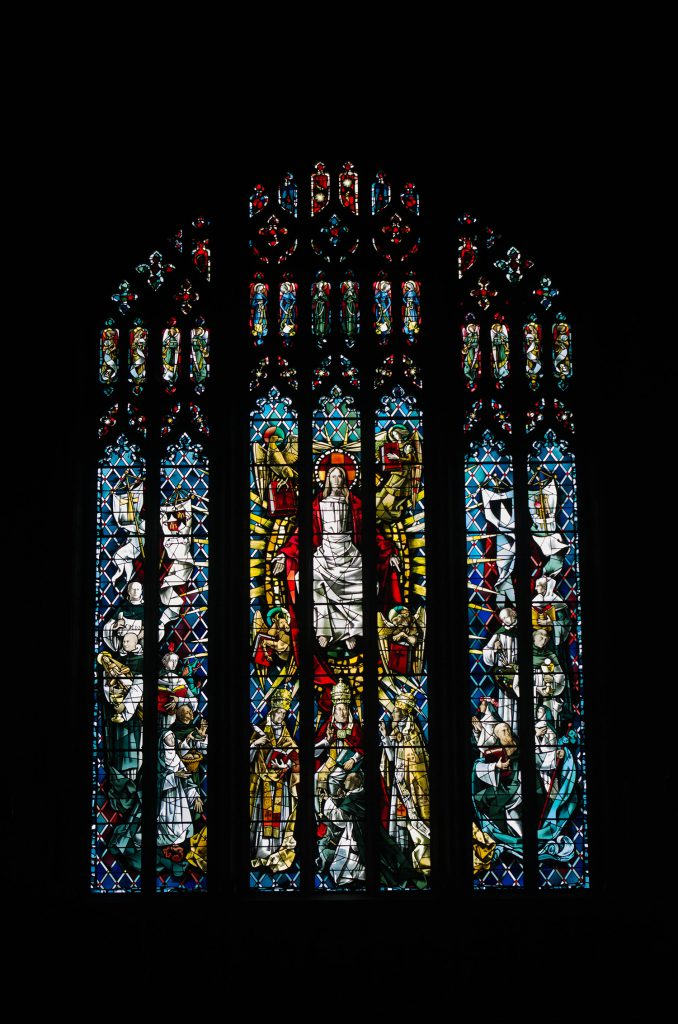 St Dominic Stained Glass